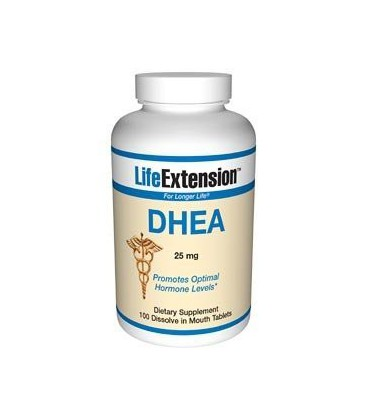 Life Extension DHEA 25 Mg Tablets, 100-Count