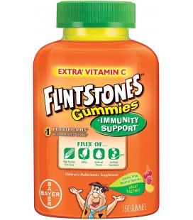 Flintstones Multivitamines enfant plus support du système immunitaire 150 gommes