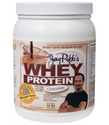 Jay Robb Enterprises - Whey Chocolate Isolate, 12 oz powder