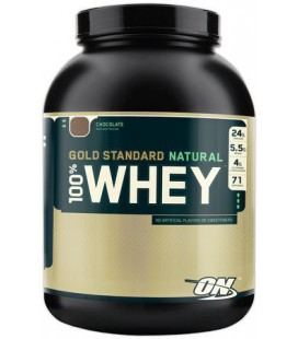 Optimum Nutrition 100% Whey Gold Standard Natural Whey, Natural Vanilla, 2 Pound