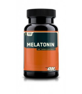 Optimum Nutrition Melatonin 3Mg 100 Tabs Sleep Aid