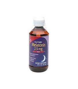 Natrol Melatonin Liquid, 8-Ounce