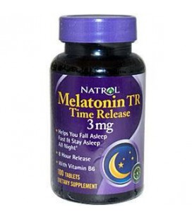 Natrol Melatonin Timed Release Tablets, 3mg 100 ea