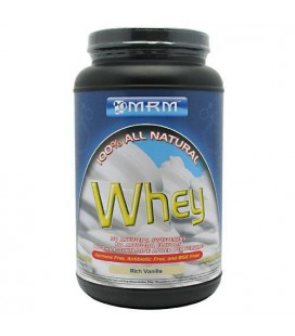 MRM All Natural Whey, Vanilla, 2.02-Pound