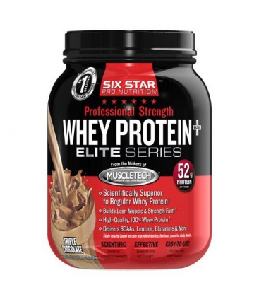 Six Star Professional Strength Whey Protein, Triple Chocolat