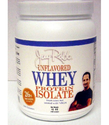 Jay Robb - Whey Isolate Unflavored 12 oz