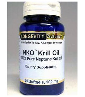 NKO Neptune Krill Oil Gold, 500mg, 60 Softgels