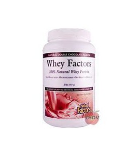 Natural Factors - Whey Factors Powder Drink Mix Chocolate -
