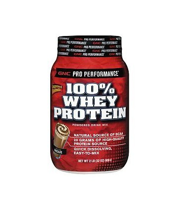 GNC Pro Performance® 100% Whey Protein - Chocolate 2LB (EXP