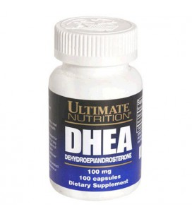 Ultimate Nutrition DHEA Platinum Series Capsules, 100 mg, 10