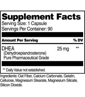 21e siècle DHEA 25 mg, gélules, 90 comte
