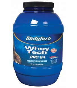 BodyTech - Whey Tech Pro 24 Chocolate, 5.15 lb powder