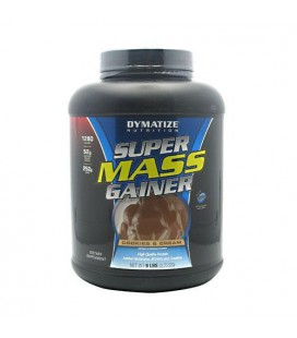 Dymatize Nutrition Super Mass Gainer, Cookies & Cream, 6-Pou