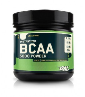 Optimum Nutrition Instantized BCAA 5000mg Poudre gout neutre 336gr