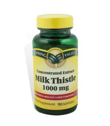 Milk Thistle Vitamins Supports Healthy Liver Function