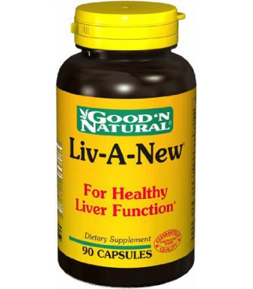 Good N Natural - Liv-A-New (Liver Formula) - 90 Capsule