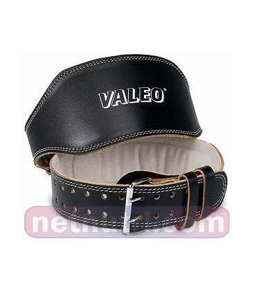 Valeo Leather Lifting Belt Blk 4 Sm