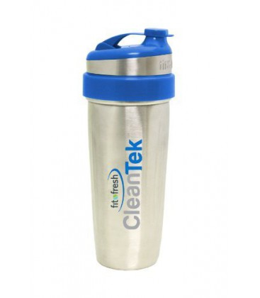 Fit & Fresh Cleantek Stainless Steel Shaker Cup, Stainless S