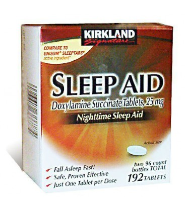 Kirkland Signature Sleep Aid Doxylamine Succinate 25 Mg X, 1