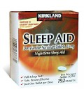Kirkland Signature Sleep Aid Doxylamine Succinate 25 Mg X, 1