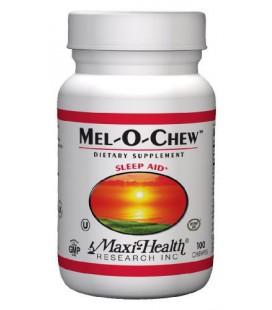 Maxi Mel O Chew excellent sleep aid- 1 mg. melatonin 100 Che