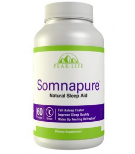 Peak Life Somnapure Sleep Aid - Natural, Non-habit Forming,