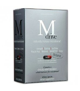 Mdrive for Men, Naturally Increase Testosterone (60 capsules)