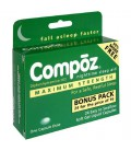 Compoz Nighttime Sleep Aid, Maximum Strength, Soft Gel Liqui