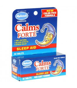 Hyland's Calms Forte Sleep Aid, 50 Tablets (Pack of 6)