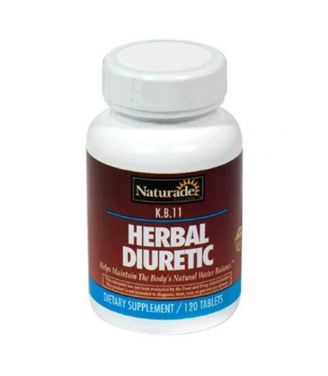 Naturade Herbal Diuretic (K.B.11) , 120 tabs (Pack of 3)
