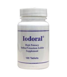Iodoral 180 Tabs by Optimox