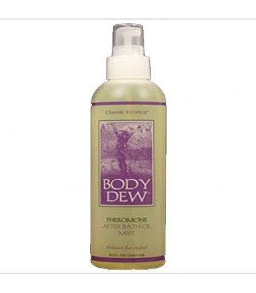 Classic Erotica Body Dew After Bath Oil with Pheromones, 8 o