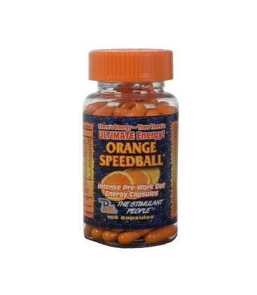 Orange Speedball 100 caps