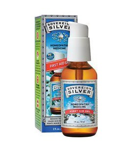 Sovereign Silver First Aid Gel 2 fl.oz.
