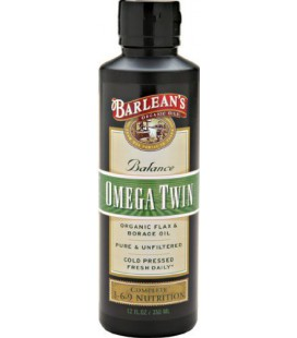 Barlean's Organic Oils Balance Omega Twin, 12-Ounce Bottle