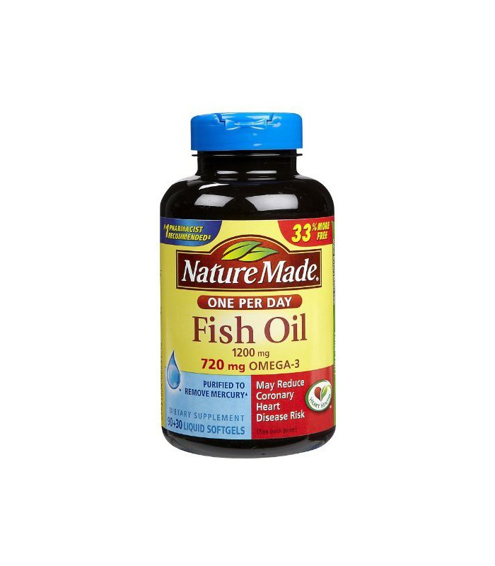 Nature made fish oil double strength 120 count for How is fish oil made
