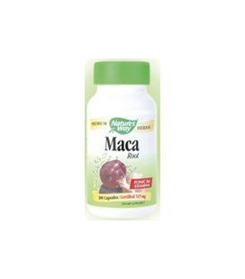 Way racine de Maca de la nature, 525 mg, 100 Capsules.