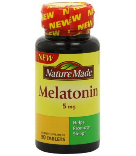 Nature Made Melatonin Tablets, 5 Mg, 90 Count