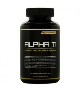 Alpha T1 - Testosterone Booster - A Natural Testosterone Supplement - A Metabolism Booster That Burns Fat
