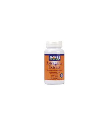 Now Foods Astragalus 70% Extractract 500mg, Veg-capsules, 90-Count