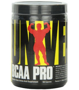 Universal Nutrition Bcaa Pro, 100 Capsules