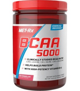 Met Rx BCAA 5000 300 Gram 46 Servings (Blue Raspberry)