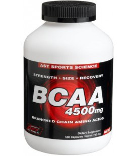 Ast Bcaa 4500mg 497caps, 650mg Bottle
