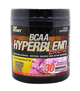 Top Secret Nutrition Bcaa Hyper blend Energy Mineral Supplement, Watermelon, 0.37 Pound