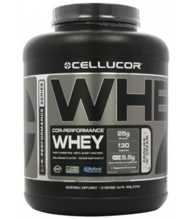 Cellucor COR Performance Cookies and Cream Whey Protein - 25g of Protein and 5.5g of Natural BCAAs - 4lbs