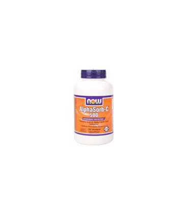 Now Foods Alphasorb-c 500mg, Veg-Capsules, 180-Count