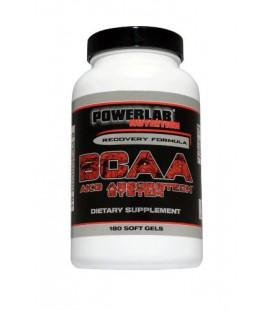 BCAA AKG, 180 Softgels, Powerlab Nutrition