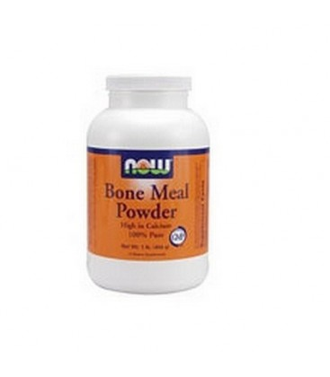 NOW Foods Bone Meal, 1 Pound (Pack of 2)