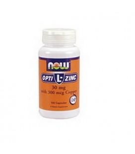 L-OptiZinc® 30 mg 100 Capsules