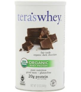 Tera's Whey Organic Whey Protein, Dark Chocolate, 12 Ounce